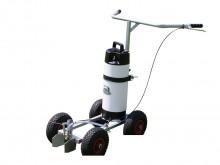 All-In Sport: voor in water oplosbare, milieuvriendelijke verf. Capaciteit verfreservoir 9 liter. Met handpomp, sproei-inrichting met vlakstraal-sproei...