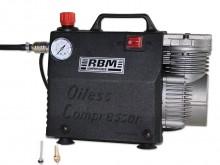 All-In Sport: Olievrije membraan compressor met ingebouwde manometer, weergave tot 8 Bar. Cilinder behuizing van aluminium, incl. draaggreep, ca. 2800 ...