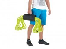 All-In Sport: Voor het eenvoudig transporteren en praktisch opbergen van 10-12 trainingshorden (15, 20 of 30 cm hoog), met klittenbandsluiting.