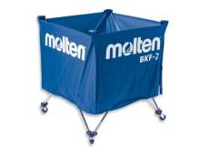 All-In Sport: Ballenwagen voor ca. 15 ballen, inklapbaar, blauw, zakmaat 60 x 60 x 55 cm, gewicht ca. 4 kg.