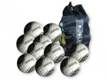 All-In Sport: Kübler Sport® Fußball Sparset SCHOOL bestehend aus 12 x Fussball School und 1 x Ballnetz für 10-12 Bälle ? Online Bestellen ? 3 Jahre Gar...