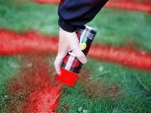 All-In Sport: De ideale markering van grasvelden en andere ondergronden. Voor het snel en probleemloos markeren van aanlooppunten, afgrenzingen en loop...