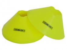 All-In Sport: De markeringshoedjes SMALL zijn veelzijdig inzetbaar en worden per 10 stuks geleverd en hebben een doorsnede van ca. 19 cm en een totale ...