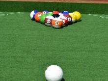 All-In Sport: Voetbal-Biljart, een nieuwe fun en trendsport! De combinatie van biljart en voetbal wordt met voetballen in de maat 3 (Ø 18-19 cm) of maa...