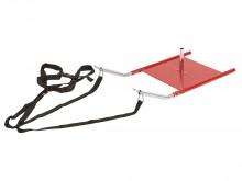 All-In Sport: voor kracht- en snelheidsoefeningen. De slee is van metaal, weegt 9,7 kg en kan met extra gewichten verzwaard worden. Das set bestaat uit...