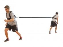 All-In Sport: Optimaal voor sprint- en snelkrachttraining. De sprintgordel bezit 2 schoudergordelsystemen voor 2 gebruikers en een 3 meter lange trekba...