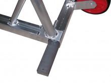 All-In Sport: aus Flachstahl 70x50 mm, 1 Satz = 4 Gewichte 120 kg für 1 Tor.