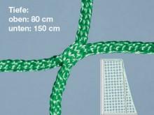 All-In Sport: Knooploos doelnet voor Beachsoccer van slijtvast polypropyleen, ca. 4 mm dik, maaswijdte 120 mm. Afmeting van het net: 5,7 x 2,25 meter, ...