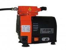 All-In Sport: Membraan-compressor met laag toerental ca. 1700 o/min. Aluminium behuizing met draaggreep, luchtslang 1,2 meter met 2 nippels (naald- en ...