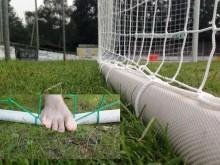 All-In Sport: PU gecoate doelslang, die met water gevuld een super alternatief is voor het aluminium bodemframe of als netverzwaring kan dienen. Geen b...