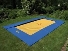 All-In Sport: De ideale recreatie-trampoline met wedstrijdeigenschappen - voor speeltuinen, kinderopvang, buitenzwembaden, campings of de eigen tuin! W...