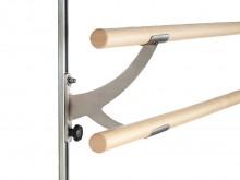 All-In Sport: Van edelstaal. De wandbeugel VARIO is snel en eenvoudig afneembaar en via een sterknop van 35 tot 130 cm verstelbaar. Inclusief profielra...