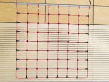 All-In Sport: Maaswijdte 25 x 25 cm. De nieuwe verbindingselementen van kunststof maken het mogelijk om de vervanging van individuele touwen en bespaar...