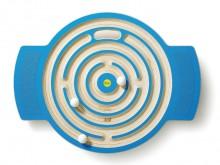 All-In Sport: Het labyrint aan uw voeten: niet elk spoor brengt de kogel van de buitenste rand naar de binnenste en weer terug. Hier is balans en coörd...