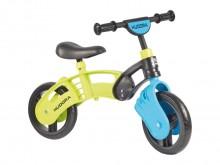 """All-In Sport: De Coolbike is een zeer lichte kunststof loopfiets met kogelgelagerde 9,5"""" wielen en EVA-banden. Met de veiligheids-handvaten, het stuur ..."""