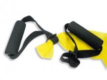 All-In Sport: Zachte schuimrubber-grepen maken de training met banden nog aangenamer. <br /><br />Variabel inzetbaar voor alle banden en tubings.