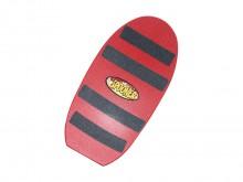 All-In Sport: Het Spoonerboard is inzetbaar op gras, zand, asfalt en sneeuw. Er zijn geen speciale schoenen of voorwaarden nodig, het stroeve oppervlak...