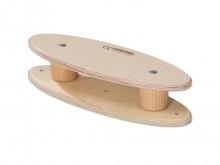 All-In Sport: Mit dem pedalo®-Niveauausgleich, entsteht eine zweite, feste Standfläche. Das Standbein wird erhöht und der Trainierende kann mit einer g...