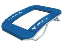 All-In Sport: Springplank met elastisch springdoek en bekleding van het frame, combineert de klassieke springplank en trampoline door het elastische sp...