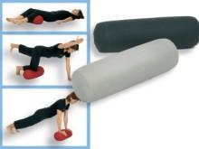All-In Sport: 2 in 1 – de individueel reguleerbare, luchtgevulde positiehulp en veelzijdig toepasbare gymnastiekrol. Aangenaam oppervlak, binnendruk in...
