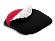 All-In Sport: Het speciale materiaal zorgt voor een optimale luchtcirculatie en aangenaam zitcomfort. Geschikt voor het Balkussen Premium wig-balkussen...