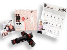 All-In Sport: Fitnesstraining voor starters en gevorderden. De beide aluminium buizen (27 cm, 600 gram) worden bij het trainen al gewichtsstok met flex...