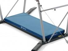 All-In Sport: Deze speciaal ontwikkelde inlegmat biedt een optimale bescherming tijdens het turnen aan de vrijstaande spanbrug. De mat dekt het grondfr...