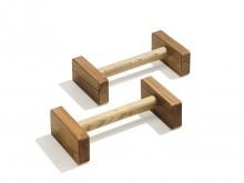 All-In Sport: van hout. Levering per paar.