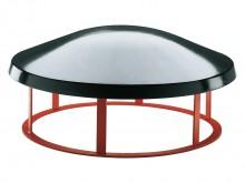 All-In Sport: 100 cm Ø, uitgevoerd in handbeschermende vorm. Paddestoelromp uitgevoerd in PU integraalschuim op stabiele onderconstructie. Vast hoogte ...