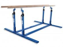 All-In Sport: Voor wedstrijd- en topsport. F.I.G. gecertificeerd. Uiterst stabiele robotgelaste staalconstructie (LxB : 254x250 cm) Dwarsbalken voorzie...