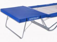 All-In Sport: Größe 300 x 200 x 20 cm, mit angeschnittenen Keilen zur Auflage auf den Sicherheitstisch. Entsprechend den internationalen Wettkampfbesti...