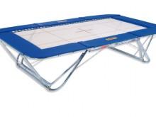 All-In Sport: Gehört ebenfalls zur Spitzenklasse der Eurotramp Wettkampf-<br />trampoline. Die Modellreihe Premium wurde im Hinblick auf die<br />Olymp...
