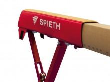 All-In Sport: <b>Die Spieth® Auflagematte für Schwebebalken -  höhere Dämpfungseigenschaft und Gelenkschonung</b><br /><br />Diese Sicherheitsmatte aus...