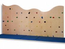All-In Sport: Die Kletteranlage ist aus Multiplex Birke (15 mm) gefertigt und kann direkt auf eine tragfähige Wand montiert werden. Befestigungsmateria...