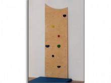 All-In Sport: Die Kletterplatte ist aus Multiplex Birke (15 mm) gefertigt und kann direkt auf eine tragfähige Wand montiert werden. Befestigungsmateria...