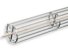 All-In Sport: mit Ansatz, für druckstellenfreies Aufrollen von rollbaren Bodenturnmatten, für Transport und Lagerung. Für 200 cm breite Bodenturnmatten.