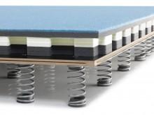 All-In Sport: Die neue Tumblingbahn MOSKAU ist auf Basis des FIG-zertiizierten Schwingbodens MOSKAU entwickelt und bietet mit Ihrer neuen Konstruktion ...