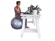 All-In Sport: <u>Nieuwe, zelfbalancerende zit- en oefenbal zonder interne materialen</u><br /><br />De zit- en oefenbal is dankzij de materiaal-mix zel...