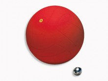 "All-In Sport: Blinden voetbal ""Goalbal"" van rubber, Ø 21 cm, met geïntegreerde belletjes, 500 gram."