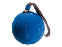 All-In Sport: Van dikwandig rubber, met lederen lus, niet oppompbaar. 1a kwaliteitsbalen.