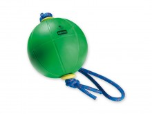 All-In Sport: Door het geïntegreerd touw opent deze speciale Medizinbal nieuwe oefenmogelijkheden. Van Alconyl kunststof met naaldventiel. Door verande...