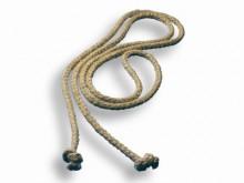 All-In Sport: van 100% vlas 10 mm dik, met geknoopte uiteinden.