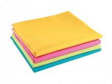 All-In Sport: Een vrolijk gekleurde katoenen doek (100%) voor een veelvoud aan verschillende oefeningen zoals voorwerpen verbergen, betasten, transport...