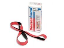 All-In Sport: Eindloze rubberband, van hoogelastisch rubber, met oefeninstructie.