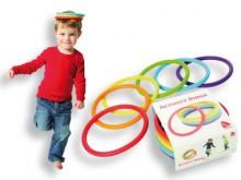 All-In Sport: Flexibele ringen voor verschillende, fantasievolle bewegingsspellen Dansen, balanceren, stapelen, jongleren, werpen Ideaal voor spel, rit...