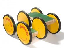 All-In Sport: Original Pedalo Classic met lage moeilijkheidsgraad. Afm. Treevlakken: 30 x 14 cm. Afm. Pedalo: 44 x 37 x 22 cm, belastbaar tot 200 kg. V...