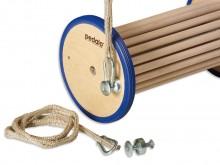 All-In Sport: Extra oefenhulp voor Pedalo-artikelen. De touwen kunnen zo bevestigd worden, dat de bewegingsvorm t.o.v. de voeten adversatief (kruisling...