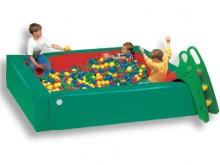 All-In Sport: Ongelofelijk veel plezier voor alle kinderen, die willen bewegen, spelen en duiken in een bad van animerende bonte ballen. Deze ballenbak...