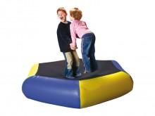 All-In Sport:  Veel plezier en beweging met deze kindertrampoline. Minimaal blessuregevaar, omdat dit model compleet zonder hout-, resp. metaalconstruc...