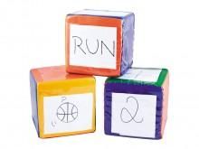 All-In Sport: Die neuen, bunten und kreativen Spielwürfel von Spordas!<br /><br />Mit dem Move Cubes Set von Spordas fördern Sie die Kommunikation, das...